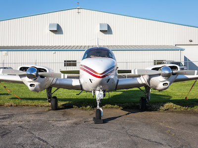 1959 Beechcraft Travel Air - Nashville Flight Training Planes