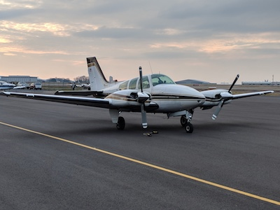 1963 Beechcraft Baron - Nashville Flight Training Planes