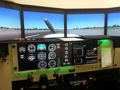 Redbird LD Simulator – Cessna 172 - Nashville Flight Training Planes