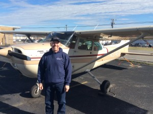 Flight instructor: Jeff Garris